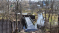 Жители Горелово получили обновленный пешеходный мост