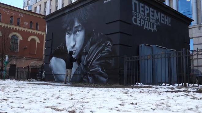 За весь в год в Смольный поступило только одно заявление на легальное граффити