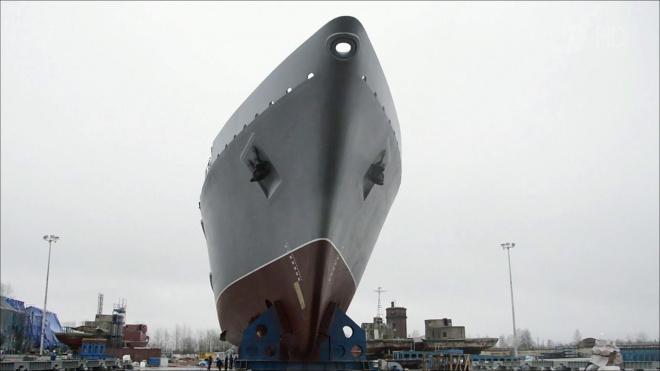 В Петербурге спустят на воду противоминный корабль