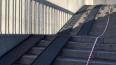 Лестничными спусками Кантемировского моста теперь ...