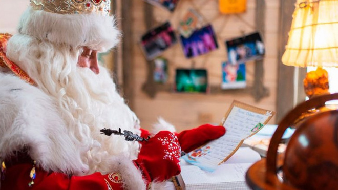 Дед Мороз прилетит в Петербург на волшебном самолёте и зажжёт огни на городской ёлке