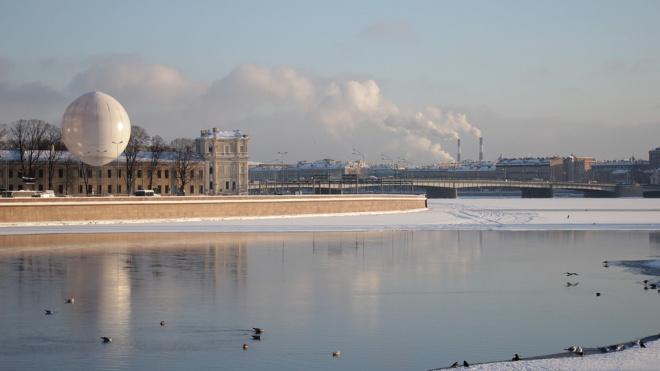 В среду в Петербурге потеплеет до плюс трех градусов