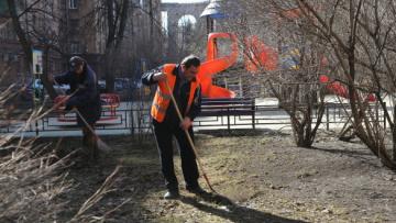 В Петербурге убрали более 70% дворов