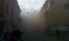 Обрушились перекрытия дома в Большом Казачьем: район заволокло пылью