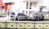 """В Колпино произошло серьёзное ДТП, столкнулись """"Мерседес"""" и """"Рено""""."""