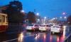 На Политехнической авария: трамваи встали в пробке