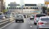 Многокилометровая пробка на КАД образовалась из-за дорожных работ
