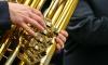 Военный оркестр поздравил с 8 Марта 100-летнюю блокадницу