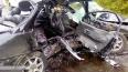 «Волга» врезалась в фуру в Омской области: погибли ...