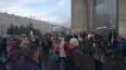 """Станцию метро """"Дыбенко"""" закрыли на вход и выход"""