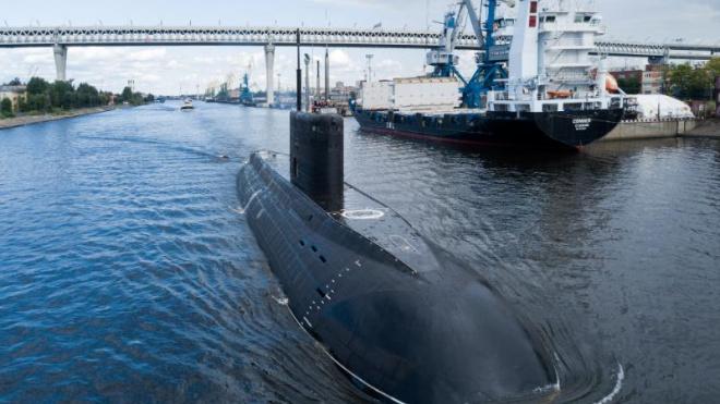 """Подводная лодка """"Петропавловск-Камчатский"""" успешно совершила первое погружение"""