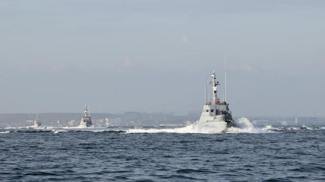 Украинский флот обвинил ФСБ России в создании препятствий в Азовском море
