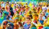 На фестивале красок в Петербурге было использовано 50 тонн порошка с красками