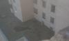 В Петербурге из окна жилого дома выпала целая семья