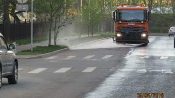 За прошлую неделю Петербург очистили от 5 тонн грязи ...