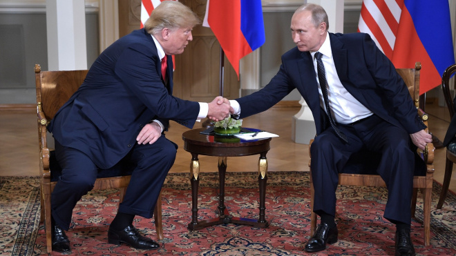 """Трамп и Путин могут встретиться во время саммита """"Большой двадцатки"""""""