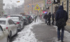 Последствия ночного снегопада в Петербурге убирали 1150 единиц спецтехники