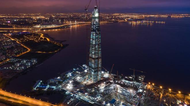Состояние конструкций Лахта центра будут контролировать свыше 3 тыс. датчиков