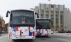 В Кингисеппе построили современную автоматическую станцию для заправки метаном автомобилей и автобусов