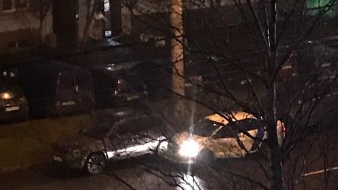 Водитель каршеринга, скрываясь от погони, попал в ДТП в Петербурге