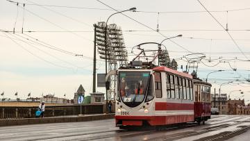 Власти Петербурга собираются создать программу ремонта трамвайных путей на 500 млн рублей