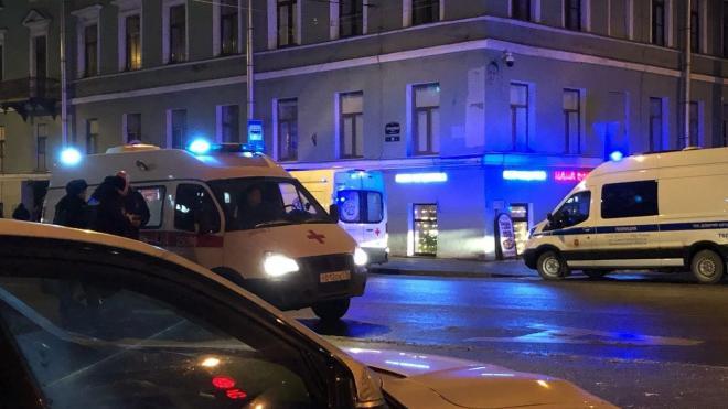 В центре города автомобиль сбил петербурженку