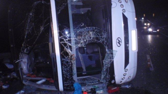 ДТП под Тулой: стали известны имена жертв аварии, в перевернувшемся автобусе 7 человек погибли, 45 — пострадали