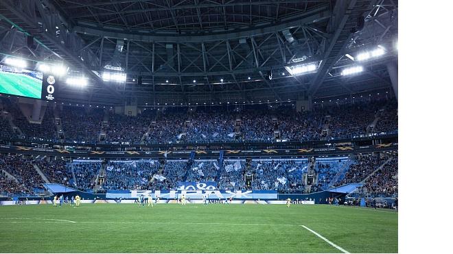 """""""Зенит"""" побил клубный рекорд посещаемости на еврокубковых матчах"""