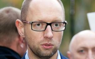 Неизвестные хотели расстрелять Яценюка из гранатомета на трассе под Киевом