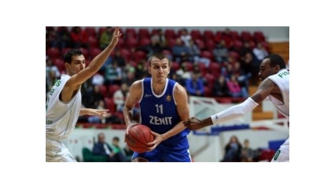 """Баскетбол: """"Зенит"""" - """"Химки"""""""