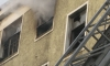 При пожаре на Маршала Казакова 10 человек спасли по маршевой лестнице