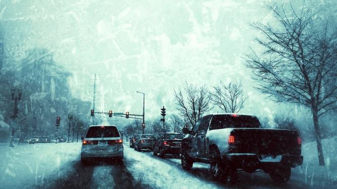 В среду на дорогах Петербурга будет скользко