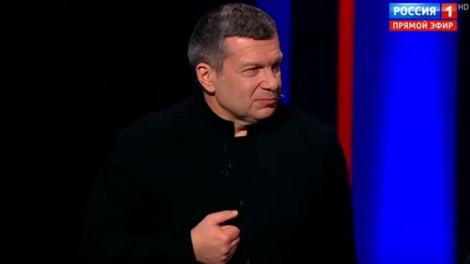 Владимир Соловьев раскритиковал тех, кто жалуется на нехватку масок