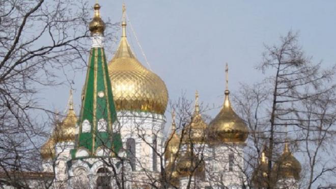 В Петербурге начали восстанавливать колокольню Новодевичьего монастыря
