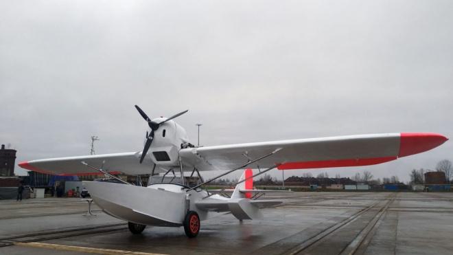 На Средне-Невском заводе воссоздали самолет-амфибию