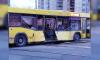 На перекрестке улицы Руставели и проспекта Просвещения столкнулись два автобуса