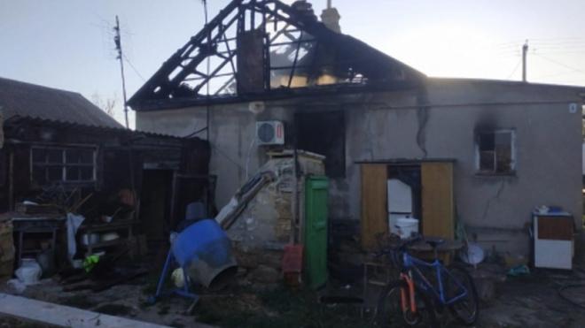 В Крыму из-за поджога в пожаре погибла молодая женщина и ее 2-летний ребенок