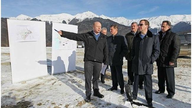 Президент России на новогодних каникулах пожелал строителям Сочи трудиться
