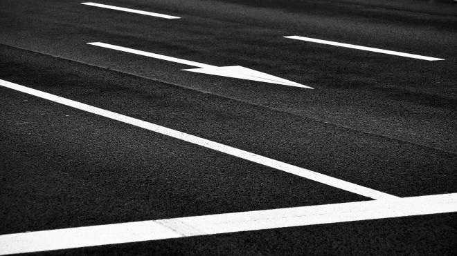 Дирекция по организации дорожного движения получила представление за стёршуюся разметку