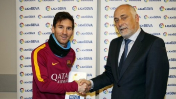 Месси впервые признан игроком месяца в чемпионате Испании