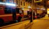 На Большой Московской загорелся алкогольный магазин