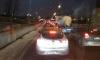 Утром петербуржцы пожаловались на огромную пробку в Невском районе