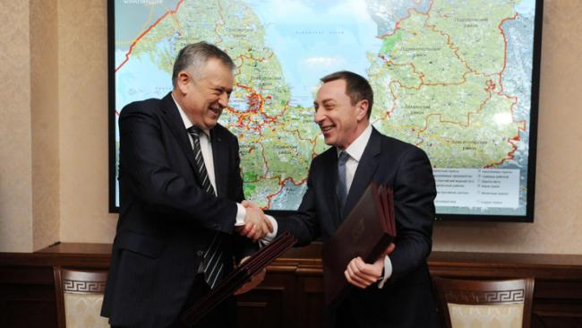 Ленобласть и Белоруссия подписали соглашение о сотрудничестве