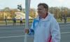 Вячеслав Макаров принял эстафету огня зимней Универсиады в Северной столице