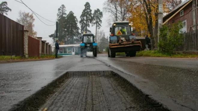 В Выборге залатают ямы на дорогах
