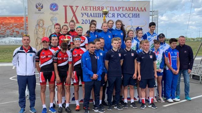 Выборгских спортсменов наградили в министерстве спорта РФ