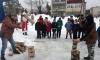 """В поселке Рябово Выборгского района прошло народное гуляние """"Как на масленой неделе"""""""