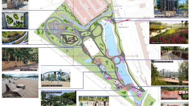 В 2021 году в Металлострое появится общественное пространство