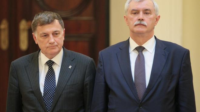 Губернатор Петербурга поздравил учеников новой школы №428 с Днем знаний