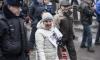Более 500 человек пришли на митинг памяти Немцова на Марсово поле